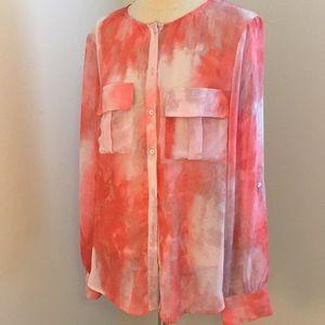 NWOT Long sleeve blouse